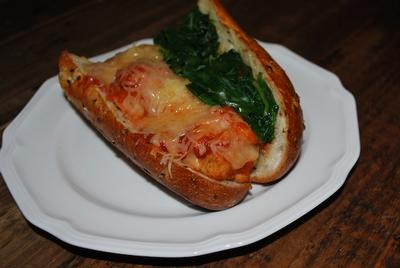 Turkey Ricotta Meatball Sandwich by Stacy