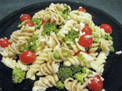 Veggie and Cheese Pasta Salad