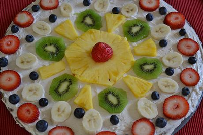 Simply Delicious Fruit Pizza