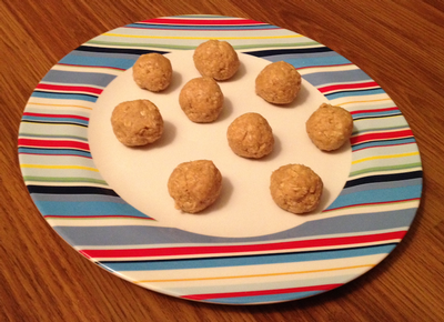 No Bake Cashew Butter Balls - Kid Kritics Approved