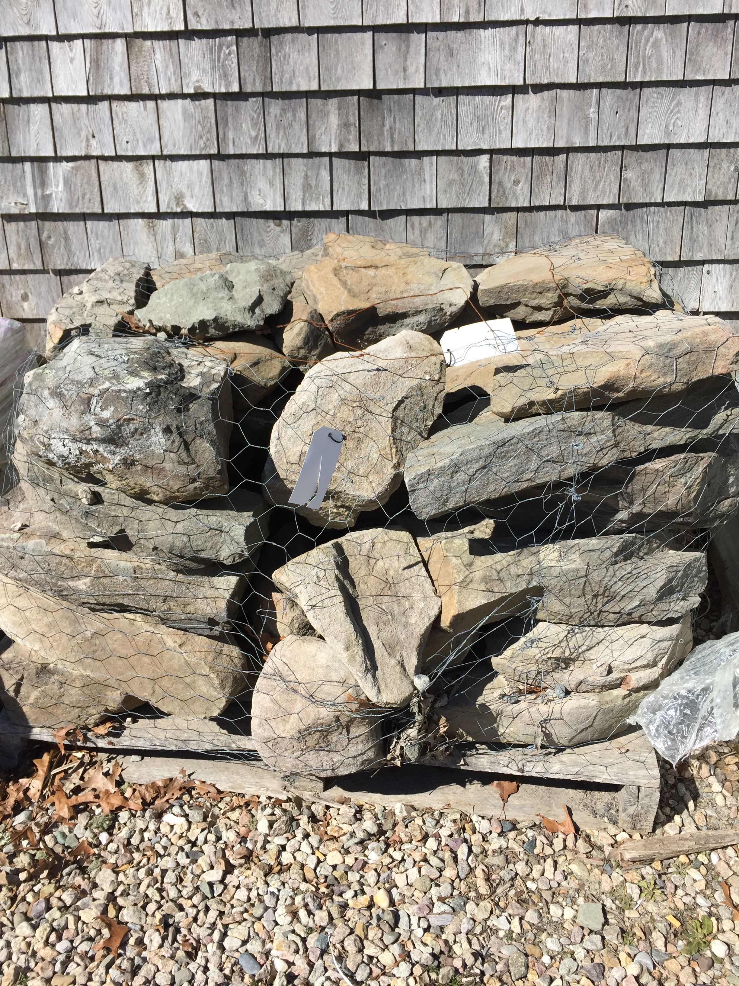 Wall Amp Stepping Stone T W Nickerson Chatham Ma