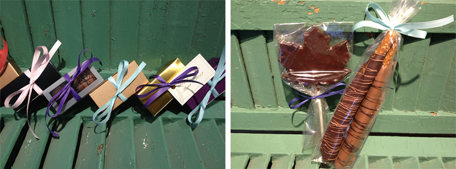 Handmade Chocolates Chocolate Wedding Favors From Laughing Moon