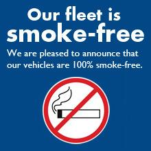 We Have a Smoke Free Rental Car Fleet