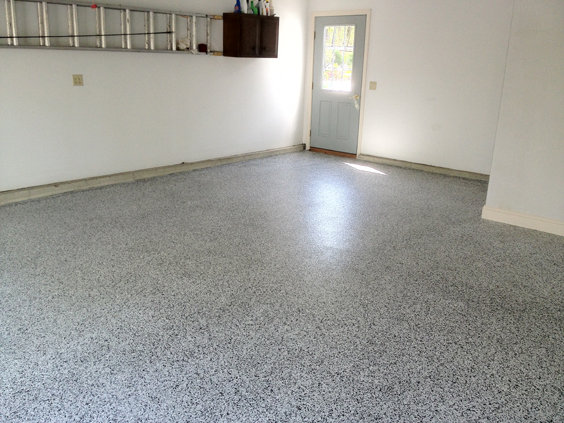 Epoxy Garage Floor Painting On Cape Cod