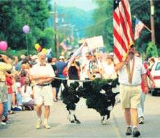 Stowe Fourth of July Parade