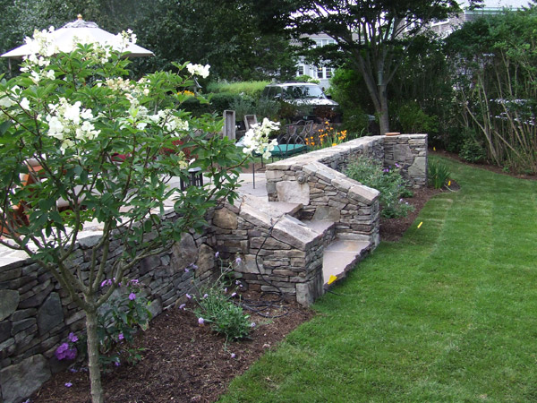 Stonework Can Add Beauty And Greater Functionality To Your Outdoor Es Walkways Walls Patios Provide Architectural Interest That Blend With