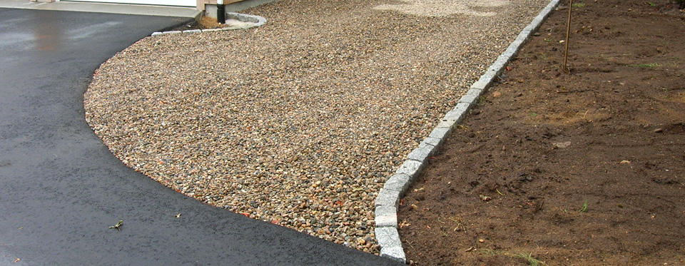 Cape Cod Cobble Stone Edging Holmes Land Services East