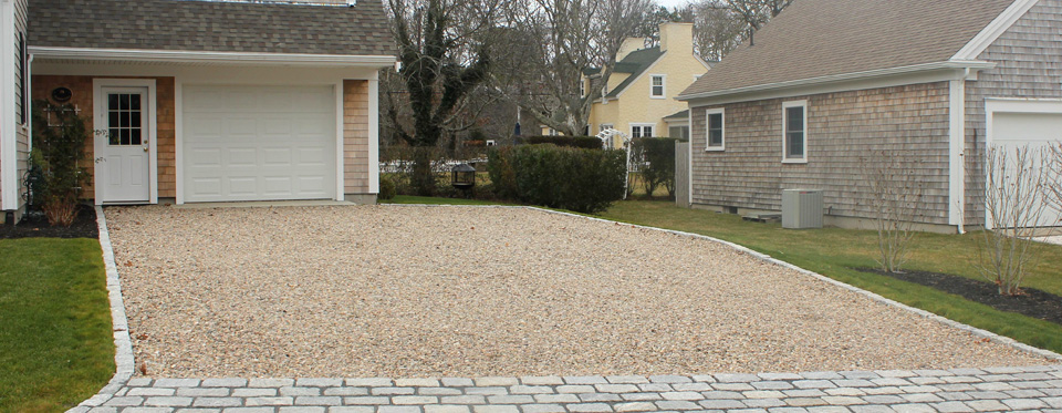 Cape Cod Stone Driveways Holmes Land Services East Harwich Ma